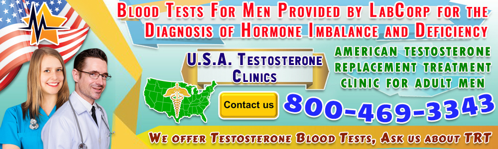 11 11 blood tests for men provided by labcorp for the diagnosis of hormone imbalance and deficiency