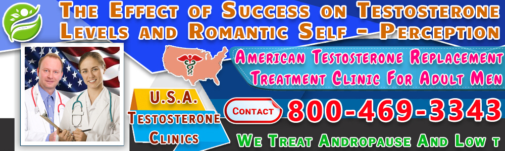 6 6 the effect of success on testosterone levels and romantic self perception