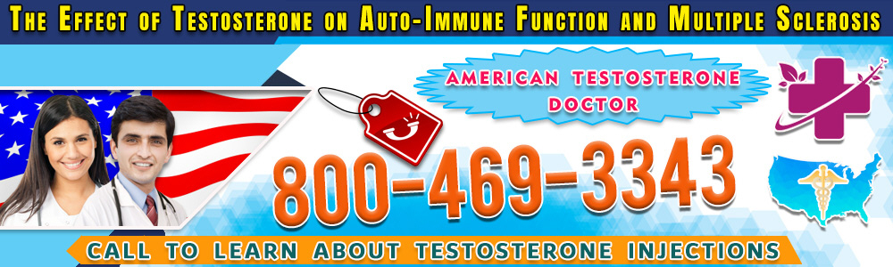83 83 the effect of testosterone on auto immune function and multiple sclerosis