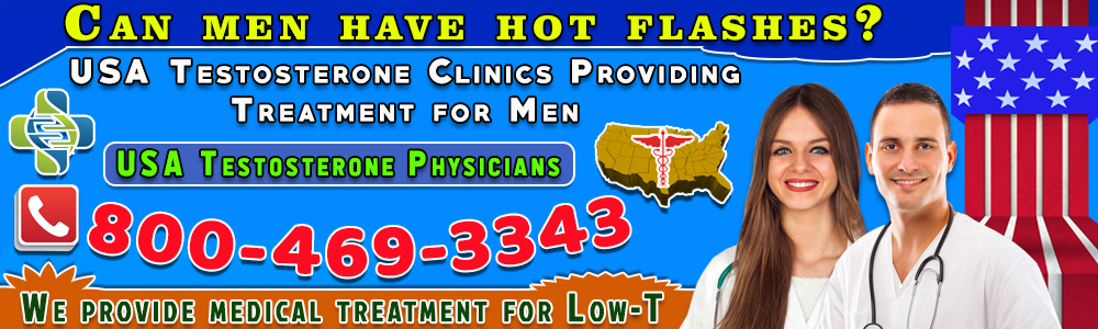 can men have hot flashes