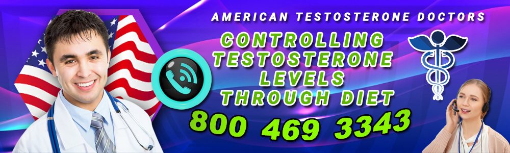controlling testosterone levels through diet