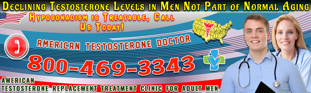 declining testosterone levels in men not part of normal aging