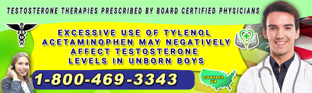 excessive use of tylenol acetaminophen may negatively affect testosterone levels in unborn boys