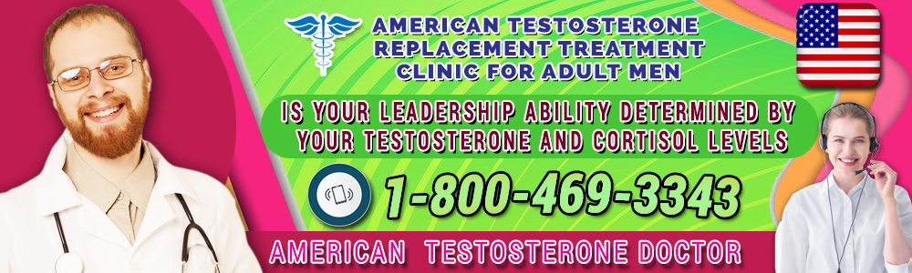 is your leadership ability determined by your testosterone and cortisol levels