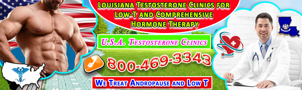 louisiana testosterone clinics for low t and comprehensive hormone therapy