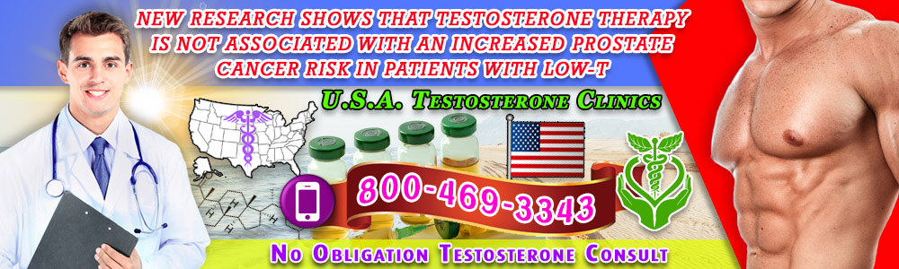 prostate cancer not directly linked with testosterone therapy
