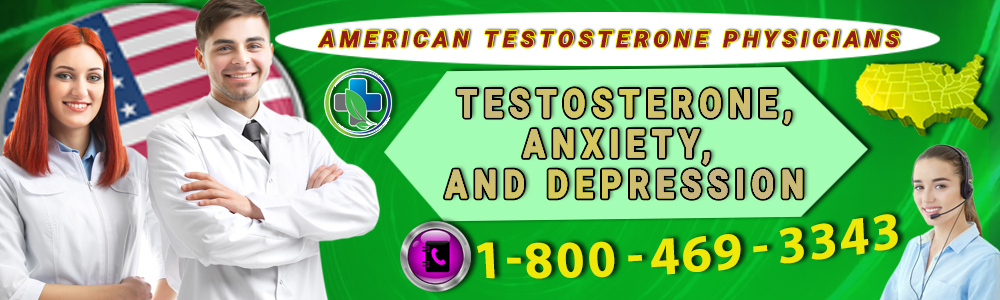 testosterone anxiety and depression