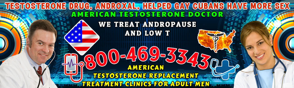 testosterone drug androxal helped gay cubans have more sex
