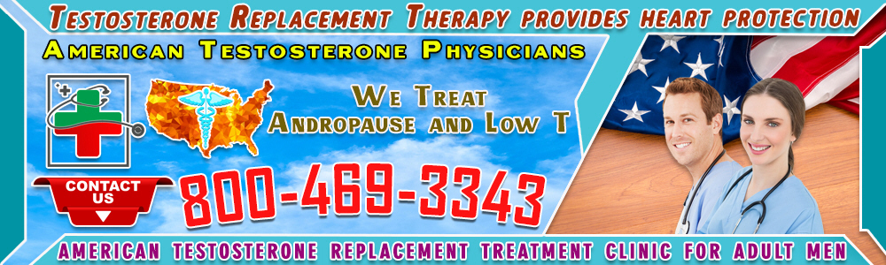 testosterone replacement therapy provides heart protection