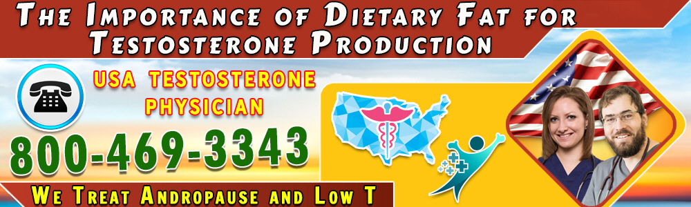 the importance of dietary fat for testosterone production