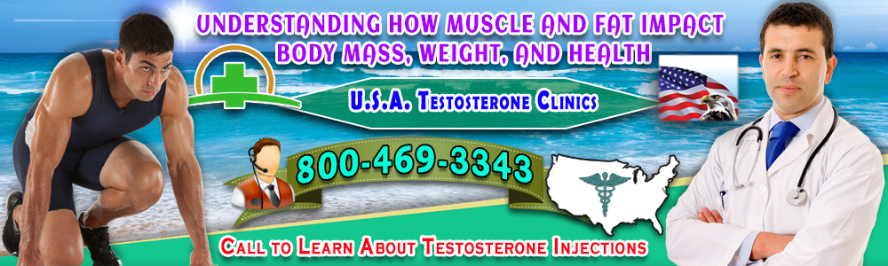 understanding muscle fat impact body mass weight health