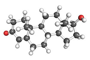 grey-white-red-testosterone-molecule
