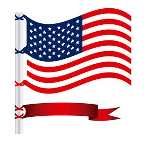 USA Flag 597828020