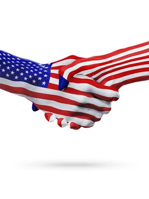 USA Flag 602346956