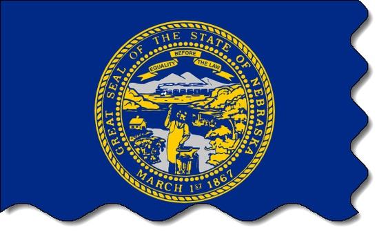 Nebraska state flag, medical clinics