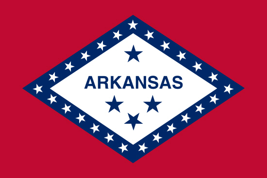 Arkansas state flag, medical clinics