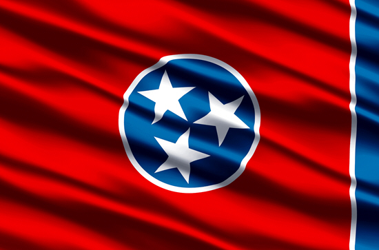Tennessee state flag, medical clinics