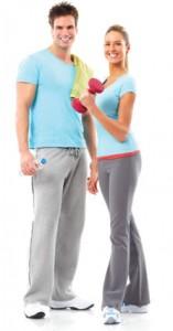 health conscious couple
