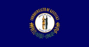 kentucky state flag 300x158