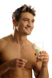 masculinity hormone non soy milk drinker 199x300