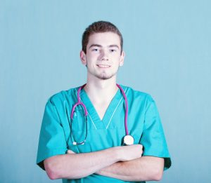 portrait of a young male HGH doctor  300x261