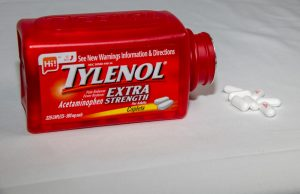 Red tylenol bottle 300x194