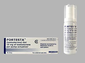 Fortesta testosterone gel